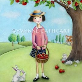 Girl with Apples - ltd wrk sp