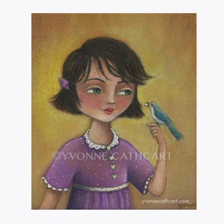 *011816***Girl with Bird