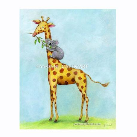 Giraffe & Koala - frame