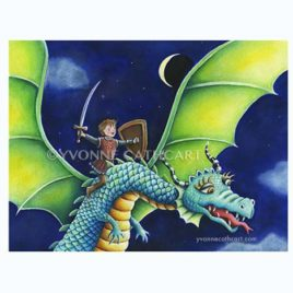 boy riding dragon lt w-mk -cl-up